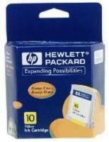 ΓΝΗΣΙΟ ΜΕΛΑΝΙ HEWLETT PACKARD NO 10 YELLOW INK CRTR ΜΕ OEM: C4842A αναλώσιμα μελανια για inkjet κιτρινο