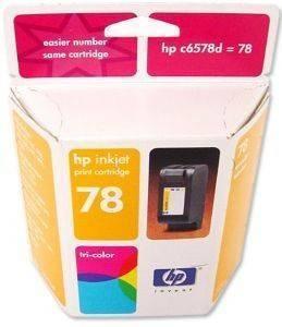 ΓΝΗΣΙΟ ΜΕΛΑΝΙ HEWLETT PACKARD 3ΧΡΩΜΟ (3COLOUR) ΜΕ OEM: C6578D αναλώσιμα μελανια για inkjet color pack