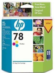 ΓΝΗΣΙΟ ΜΕΛΑΝΙ HEWLETT PACKARD ΝΟ 78 3ΧΡΩΜΟ (3COLOUR) ΜΕ OEM: C6578A aναλώσιμα μελανια για inkjet color pack