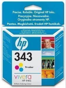 ΓΝΗΣΙΟ ΜΕΛΑΝΙ HEWLETT PACKARD ΤΡΙΧΡΩΜΟ (TRI-COLOR) NO 343 ΜΕ OEM: C8766EE αναλώσιμα μελανια για inkjet color pack