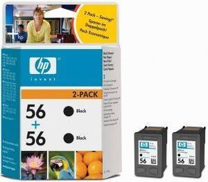 ΓΝΗΣΙΟ ΜΕΛΑΝΙ HEWLETT PACKARD NO 56 ΜΑΥΡΟ (BLACK) ΜΕ OEM: C9502A αναλώσιμα μελανια για inkjet μαυρο