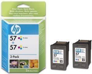 ΓΝΗΣΙΟ ΜΕΛΑΝΙ HEWLETT PACKARD NO 57 ΤΡΙΧΡΩΜΟ (TRI-COLOUR) ΜΕ OEM: C9503A aναλώσιμα μελανια για inkjet color pack