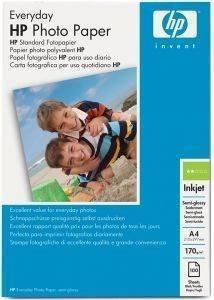 ΓΝHΣΙΟ ΧΑΡΤI HEWLETT PACKARD A4 ΕVERYDAY PHOTO SEMI - GLOSSY PAPER 100 ΦYΛΛΑ ΜΕ OEM: Q2510A/HG