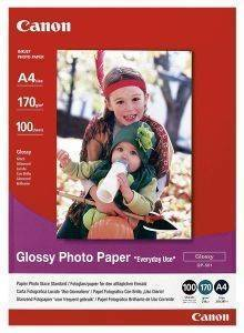 ΓΝΗΣΙΟ PHOTO PAPER PLUS CANON GLOSSY A4 100 ΦΥΛΛΑ ΜΕ OEM : GP-501