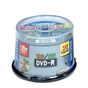 MAXELL DVD-R 4,7GB 16X CAKEBOX 50