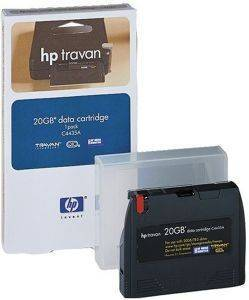 DATA CARTRIDGE HEWLETT PACKARD 1/8'' TRAVAN TR5 - 10-20GB ΜΕ OEM: C4435A
