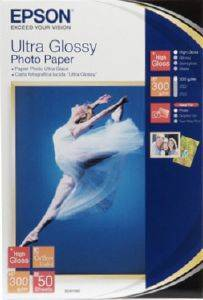 ΓΝΗΣΙΟ EPSON ULTRA GLOSSY PHOTO PAPER A6 10 X 15 CM 50 ΦΥΛΛΑ ΜΕ OEM : S041943