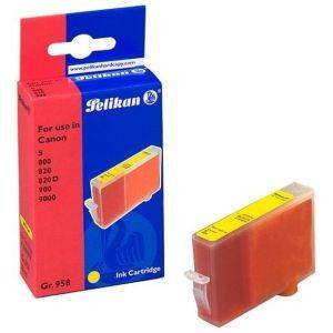 PELIKAN 339409 ΣΥΜΒΑΤΟ ΜΕ CANON BCI-6Y ΜΕΛΑΝΙ αναλώσιμα μελανια για inkjet κιτρινο