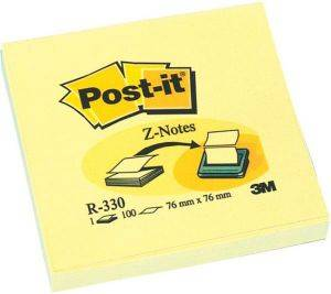 3M POST-IT R330 Z-NOTES YELLOW 76 X 76 MM 100 ΦΥΛΛΑ