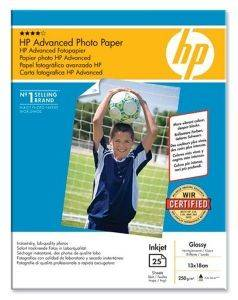 ΓΝΗΣΙΟ ΧΑΡΤΙ HEWLETT PACKARD ADVANCED PHOTO PAPER, GLOSS, 13X18, 25 ΦΥΛΛΑ ΜΕ OEM: Q8696A