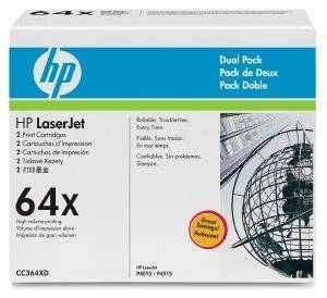 ΓΝΗΣΙΟ HEWLETT PACKARD BLACK TONER DUAL PACK ΜΕ OEM: CC364XD