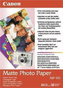 ΓΝΗΣΙΟ PHOTO PAPER CANON MATTE A4 ΜΕ OEM : MP-101