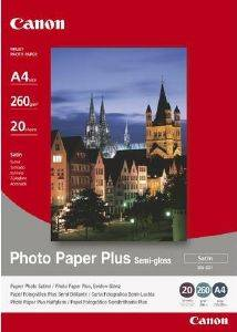 ΓΝΗΣΙΟ PHOTO PAPER CANON SEMI GLOSS A4 20 ΦΥΛΛΑ ΜΕ OEM : SG-201A4