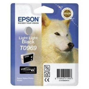 ΓΝΗΣΙΟ ΜΕΛΑΝΙ EPSON LIGHT LIGHT BLACK ME OEM: T096940