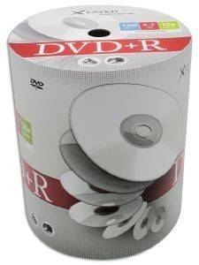 XLAYER DVD+R 4.7GB 16X SHRINK PACK 100