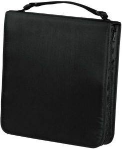 HAMA 33834 CD WALLET NYLON 160 BLACK