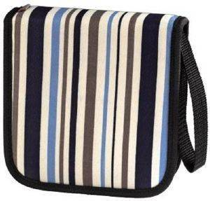 HAMA 083882 CD WALLET STRIPES 32 CD BLUE