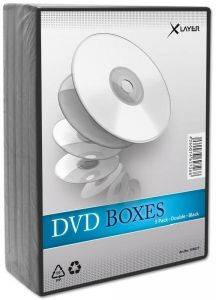 DVDBOX 2 DVDS XLAYER BLACK 5 ΤΕΜ