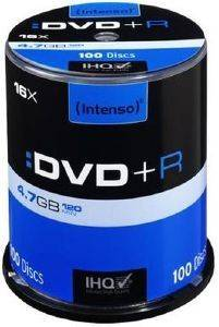 INTENSO 4111156 DVD+R INTENSO 4,7GB X16 4111156 100PCS