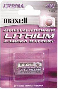 ΜΠΑΤΑΡΙΑ MAXELL LITHIUM CAMERA BATTERY CR-123A