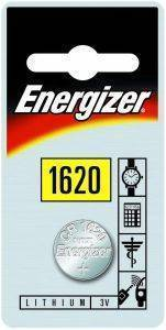 ΜΠΑΤΑΡΙΑ ENERGIZER BUTTON CELLS CR1620 1ΤΕΜ