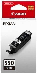 ΓΝΗΣΙΟ ΜΕΛΑΝΙ CANON PGI-550PGBK BLACK ME ΟΕΜ: 6496B001 αναλώσιμα μελανια για inkjet μαυρο