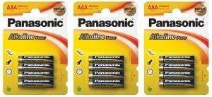 ΜΠΑΤΑΡΙΑ PANASONIC ALKALINE POWER AAA 12 ΤΕΜ.  aaa