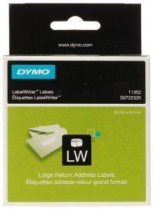 DYMO ΕΤΙΚΕΤΕΣ LARGE RETURN ADDRESS 54MM X 25MM WHITE 500ΤΕΜ 11352 S0722520