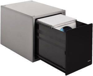 HAMA 48318 ΕΠΙΤΡΑΠΕΖΙΑ ΘΗΚΗ CD BOX MAGIC TOUCH 80 SILVER αναλώσιμα θηκεσ για cd και dvd επιτραπεζιεσ