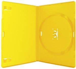 DVDBOX 1 DVD AMARAY YELLOW WITH CLIPS 10 ΤΕΜ