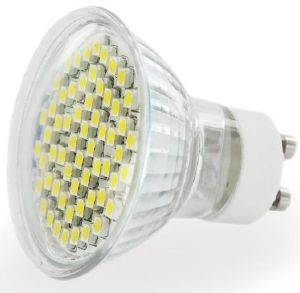 ΛΑΜΠΤΗΡΑΣ WHITENERGY LED GU10 60 SMD 3528 3W 230V WARM WHITE