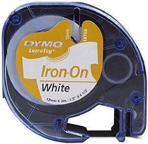 DYMO ΕΤΙΚΕΤΕΣ LETRATAG IRON-ON TAPE WHITE 12MM X 2 M 18768 S0718840