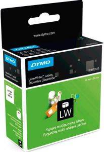 DYMO ΕΤΙΚΕΤΕΣ SQUARE MULTIPURPOSE LABELS 25 X 25 MM.750ΤΕΜ.S0929120