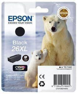 ΓΝΗΣΙΟ ΜΕΛΑΝΙ EPSON 26XL PHOTO BLACK ME OEM:C13T26324011
