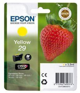 ΜΕΛΑΝΙ EPSON YELLOW CLARIA HOME 29 T2984 OEM:C13T29844010