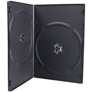 ESPERANZA CASE 2 DVD 7MM ULTRA SLIM BLACK HAND PACKING