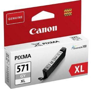 ΓΝΗΣΙΟ CANON CLI-571XL GREY ΜΕ OEM:0335C001