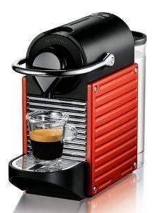 ΚΑΦΕΤΙΕΡΑ KRUPS NESPRESSO PIXIE PROGRAMMATIC XN3006S RED ηλεκτρικές συσκευές καφετιερεσ espresso πανω απο 15 bar