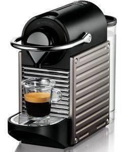 ΚΑΦΕΤΙΕΡΑ KRUPS NESPRESSO PIXIE PROGRAMMATIC XN3005S TITAN ηλεκτρικές συσκευές καφετιερεσ espresso πανω απο 15 bar