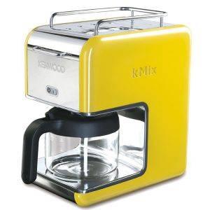 ΚΑΦΕΤΙΕΡΑ ΦΙΛΤΡΟΥ KENWOOD CM028 YELLOW KMIX ηλεκτρικές συσκευές καφετιερεσ φιλτρου μεχρι 12 φλυτζανια