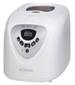 ΑΡΤΟΠΑΡΑΣΚΕΥΑΣΤΗΣ BOMANN BBA 566 ηλεκτρικές συσκευές αρτοπαρασκευαστεσ 450 watt και ανω