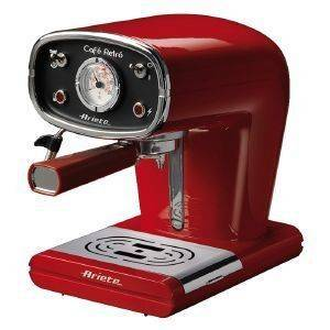 ΚΑΦΕΤΙΕΡΑ ESPRESSO ARIETE 1388 CAFE RETRO RED  15 bar