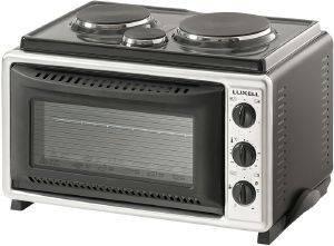 ΗΛΕΚΤΡΙΚΟ ΦΟΥΡΝΑΚΙ ΜΕ 3 ΕΣΤΙΕΣ LUXELL LX 3663 ηλεκτρικές συσκευές κουζινακια φουρνακια φουρνακια