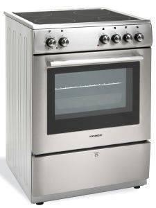 ΚΕΡΑΜΙΚΗ ΚΟΥΖΙΝΑ HYUNDAI HYC 6065 V INOX ηλεκτρικές συσκευές κουζινεσ κεραμικη