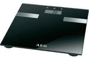 ΓΥΑΛΙΝΗ ΖΥΓΑΡΙΑ-ΛΙΠΟΜΕΤΡΗΤΗΣ AEG PW 5644 BLACK ηλεκτρικές συσκευές ζυγαριεσ λιπομετρητεσ