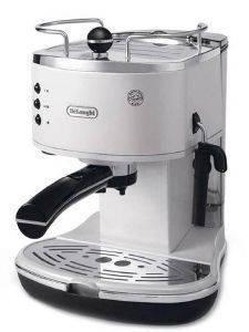 ΚΑΦΕΤΙΕΡΑ ESPRESSO-CAPPUCCINO DELONGHI ECO311.W WHITE ηλεκτρικές συσκευές καφετιερεσ espresso 15 bar