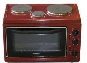 ΗΛΕΚΤΡΙΚΟ ΦΟΥΡΝΑΚΙ 3 ΕΣΤΙΩΝ MIRAGE M3C/RD ηλεκτρικές συσκευές κουζινακια φουρνακια φουρνακια