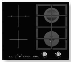 ΜΙΚΤΗ ΑΥΤΟΝΟΜΗ ΕΣΤΙΑ PYRAMIS ΓΚΑΖΙΟΥ - ΚΕΡΑΜΙΚΗ (2+3) ηλεκτρικές συσκευές εστιεσ αυτονομεσ μεικτεσ