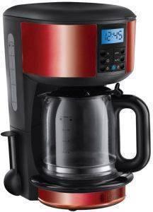 ΚΑΦΕΤΙΕΡΑ ΦΙΛΤΡΟΥ RUSSELL HOBBS LEGACY RED 20682 ηλεκτρικές συσκευές καφετιερεσ φιλτρου μεχρι 15 φλυτζανια