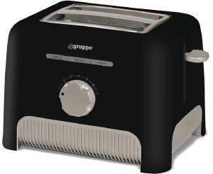 ΦΡΥΓΑΝΙΕΡΑ GRUPPE T336 ΜΑΥΡΗ ηλεκτρικές συσκευές φρυγανιερεσ 650 900 watt